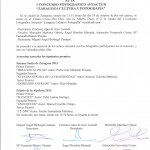 Acta Concurso Fotografico